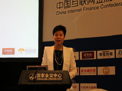 和讯网副总经理赵芳出席2014年互联网金融大会春季峰会保险分论坛